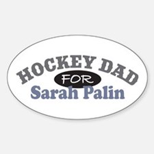 Hockey Dad For Palin Decal