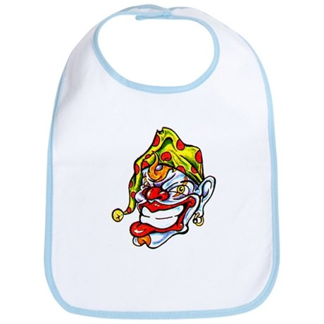 Joker Clown Tattoo Art Bib