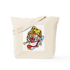 Joker Clown Tattoo Art Tote Bag