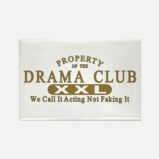 Drama Club Rectangle Magnet
