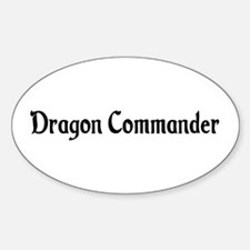 Dragon Commander Oval Decal