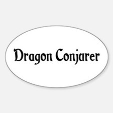 Dragon Conjurer Oval Decal