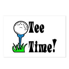 Tee Time! Postcards (Package of 8)