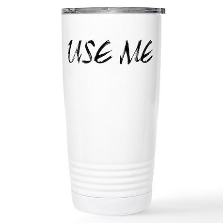 Use Me Stainless Steel Travel Mug