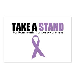 Pancreatic Cancer Stand Postcards (Package of 8)