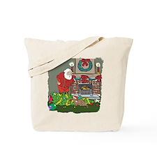 Santa's Helper Bengal Tote Bag