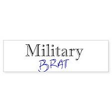 Military Brat Bumper Bumper Sticker