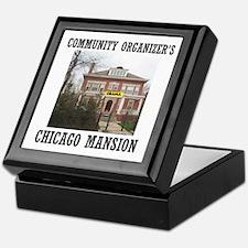 OBAMA'S MANSION Keepsake Box
