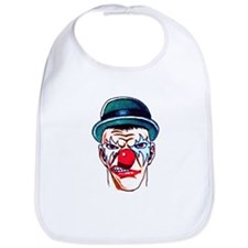Mad Angry Clown Tattoo Bib