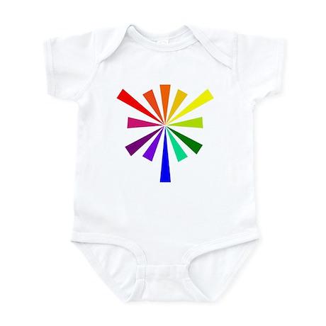 Color Wheel Infant Onesie