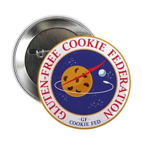 """CookieFed 2.25"""" Round Button"""
