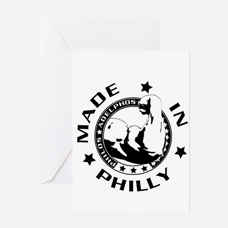 Cute Made in philly Greeting Card