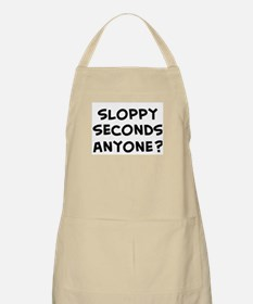 sloppy seconds anyone? BBQ Apron