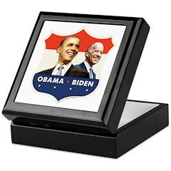 JFK Obama-Biden 054 Keepsake Box