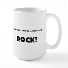Chartered Certified Accountants ROCK Large Mug