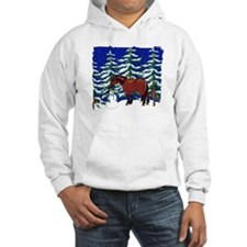 Winter Clydesdale Hoodie