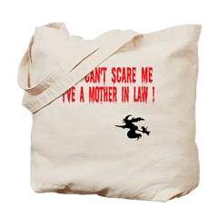 Halloween Mother in Law Tote Bag