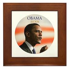 Obama-Biden 056 Framed Tile