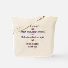Acts like a Bush Tote Bag