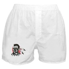 Mohawk Indian Tattoo Art Boxer Shorts