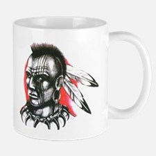 Mohawk Indian Tattoo Art Mug