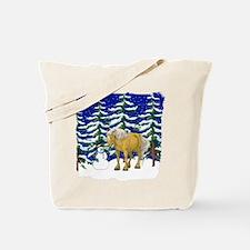 Winter Belgian Tote Bag