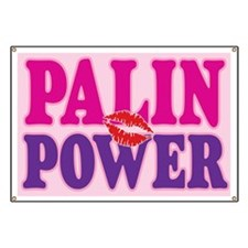 PALIN POWER! Banner