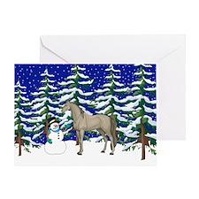 Winter Arabian Greeting Card