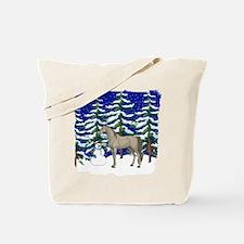 Winter Arabian Tote Bag