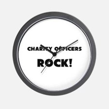 Charity Officers ROCK Wall Clock