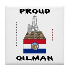 Missouri Oilman Tile Coaster