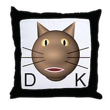 DK Throw Pillow