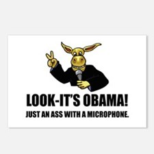 Anti-Obama Ass Postcards (Package of 8)