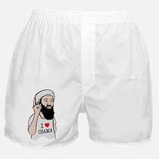 Osama Love Obama Boxer Shorts