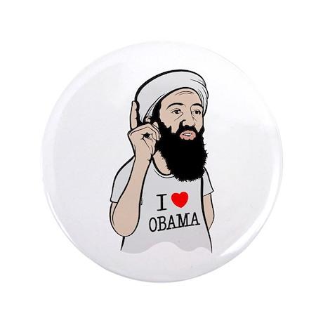 "Osama Love Obama 3.5"" Button (100 pack)"
