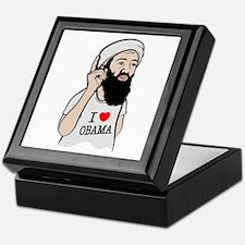 Osama Love Obama Keepsake Box