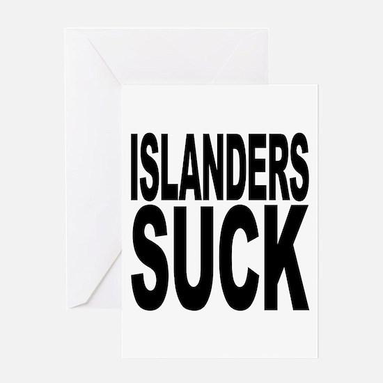 Islanders Suck Greeting Card