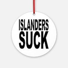 Islanders Suck Ornament (Round)