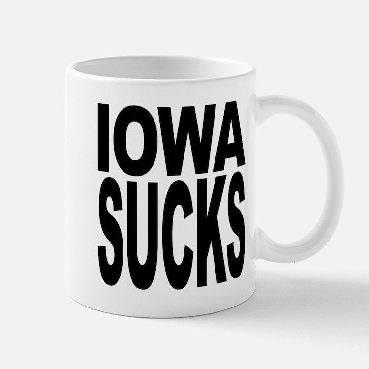 Iowa Sucks Mug