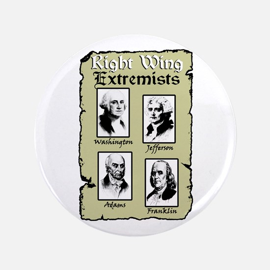 """Right Wing Extremists"" Button"
