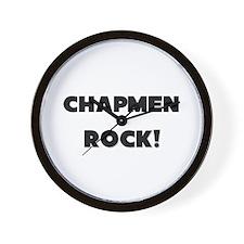 Chapmen ROCK Wall Clock