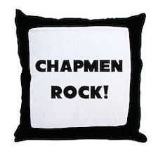 Chapmen ROCK Throw Pillow