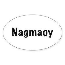 Nagmaoy Oval Decal