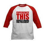 Experience This Obama Kids Baseball Jersey