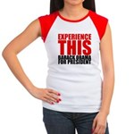 Experience This Obama Women's Cap Sleeve T-Shirt