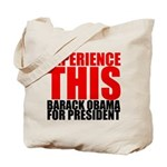 Experience This Obama Tote Bag