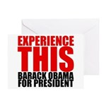 Experience This Obama Greeting Card
