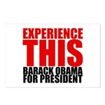 Experience This Obama Postcards (Package of 8)