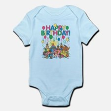 Birthday Party Animals Body Suit