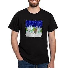 Christmas Lights Alpaca T-Shirt
